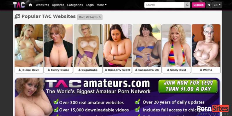 Screenshot TAC Amateurs