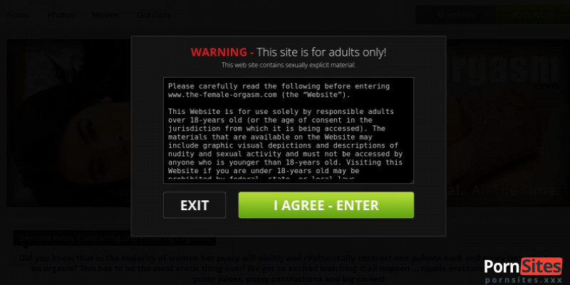 Screenshot The Female Orgasm