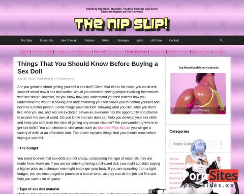This is TheNipSlip