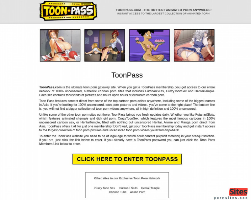 Screenshot Toon Pass