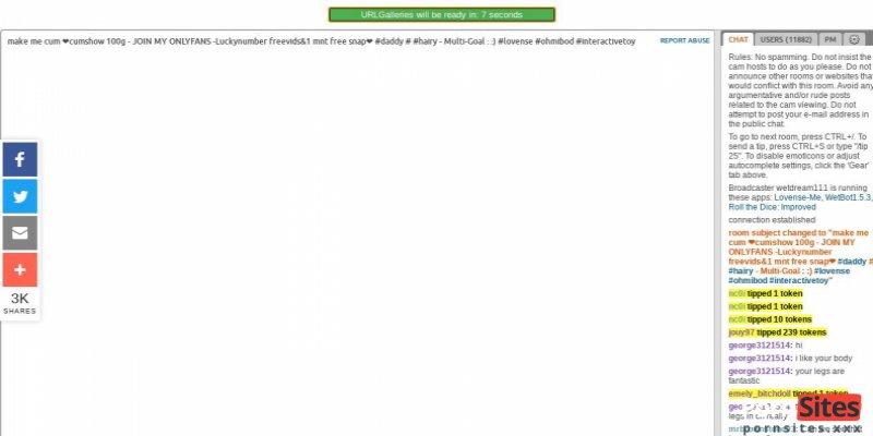 Screenshot URL Galleries