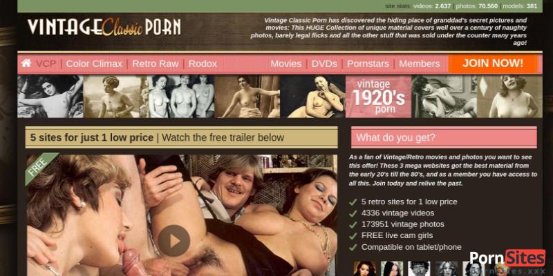 Screenshot Vintage Classic Porn