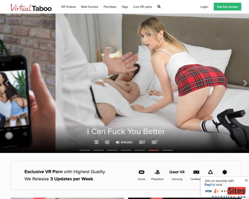 VirtualTaboo网站来自 6. 三月 2021