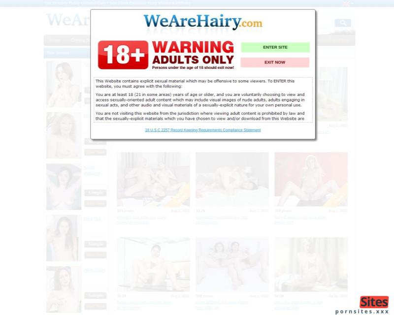 WeAreHairy Website From 23. February 2021