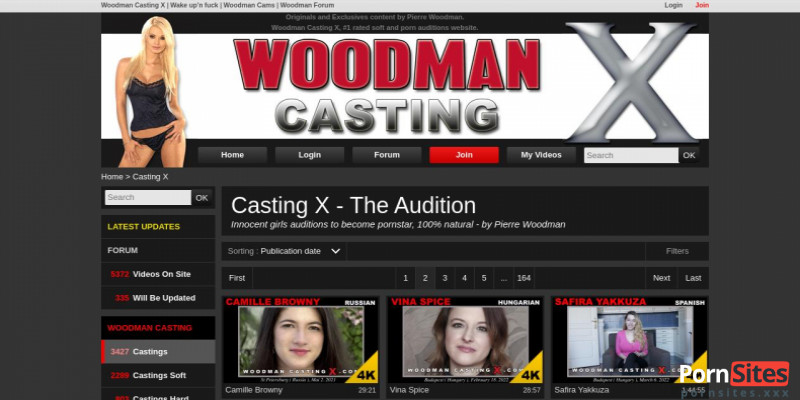 Screenshot WoodmanCastingX