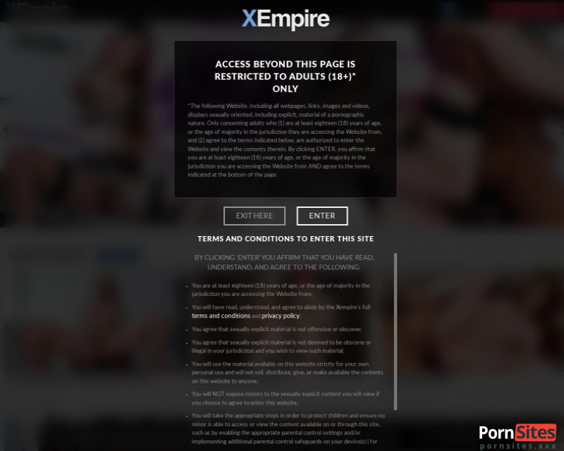 XEmpire Website From 23. February 2021