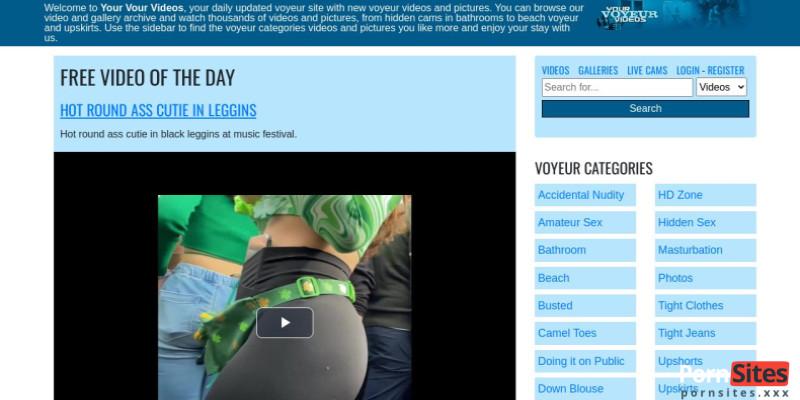 Screenshot YourVoyeurVideos